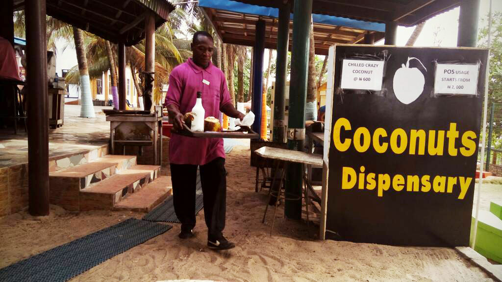 Our Coconut waiter